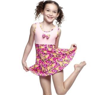 【SARBIS】MIT女童連身裙泳裝(附泳帽B88407)