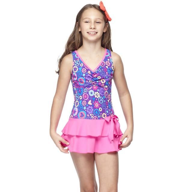 【SARBIS】MIT中童連身裙泳裝(泳帽B88420)