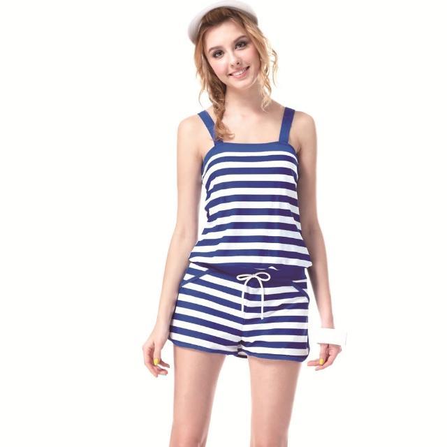 【SARBIS】MIT大女連身二件式泳裝(附泳帽B92343)