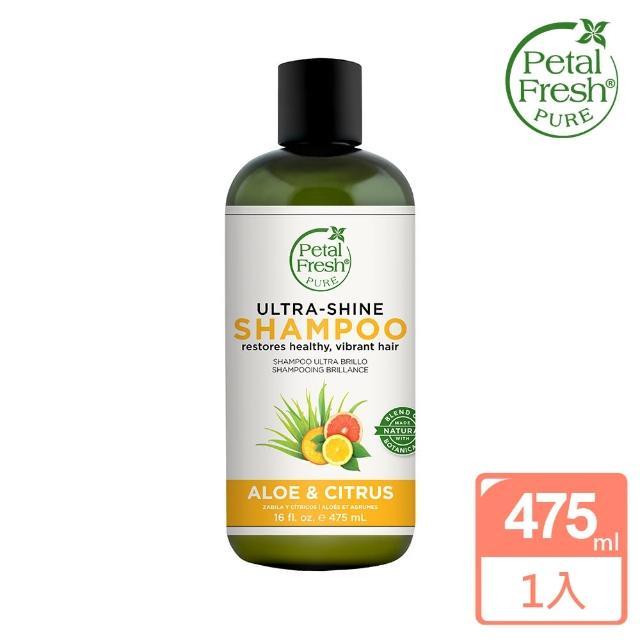 【美國 沛特斯】有機成份柑橘蘆薈保濕洗髮精(無矽靈-16oz/475ml)