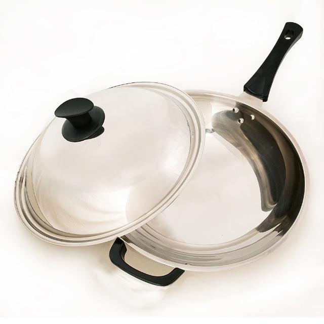 【台灣好鍋】加賀系列七層不鏽鋼小炒鍋(33cm)