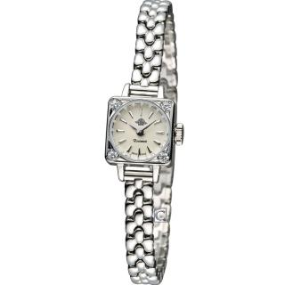 Rosemont 玫瑰錶 骨董風玫瑰系列 優雅淑女腕錶 - 銀/14mm (TRS39-03-MT)