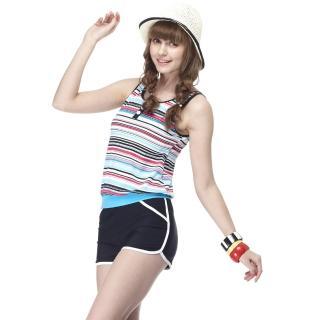 【SARBIS】MIT泡湯SPA大女連身二件式泳裝(附泳帽B92421)