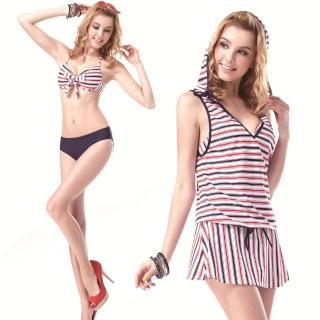 【SARBIS】MIT大女比基尼三件式泳裝(附泳帽B93327)