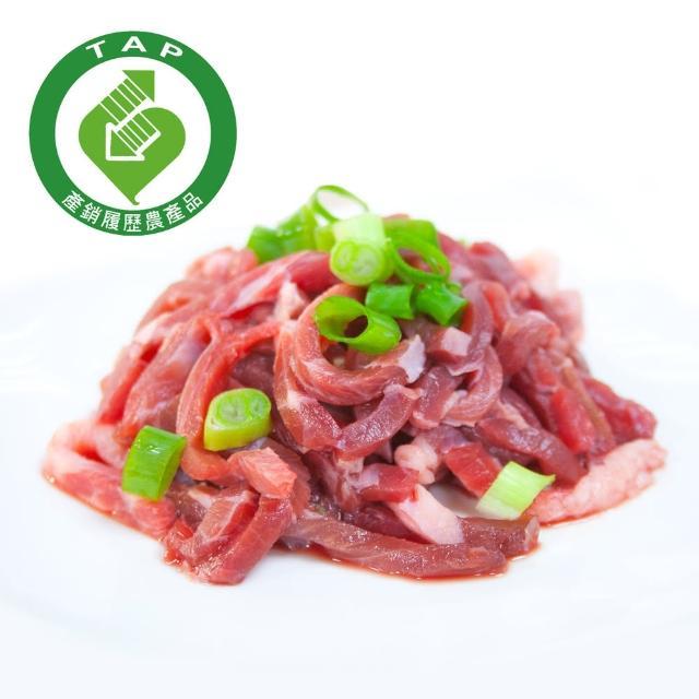 【鮮食家任選799】御牧牛產銷履歷牛肉絲(300g/包)