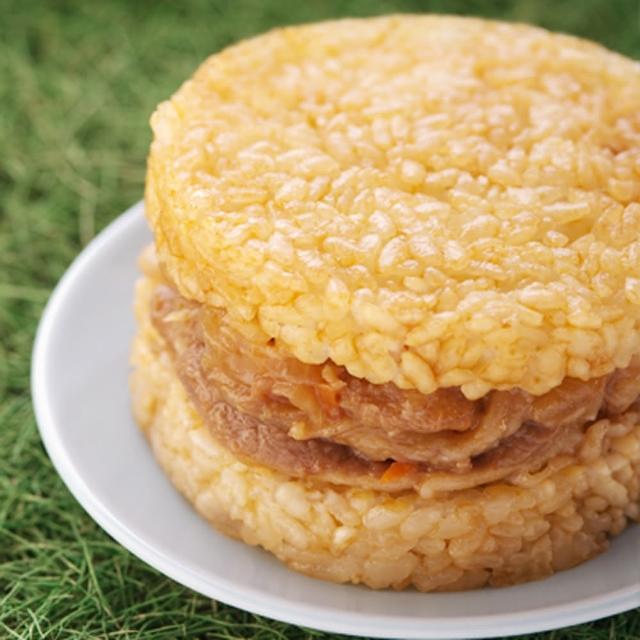 【鮮食家任選799】喜生 日式牛丼洋蔥牛米漢堡(160g*3入/盒)