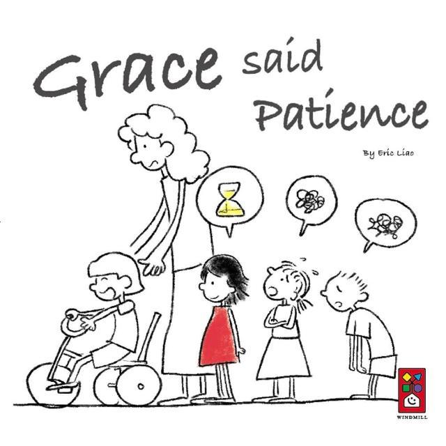 【風車圖書】Grace said Patience(英文版)