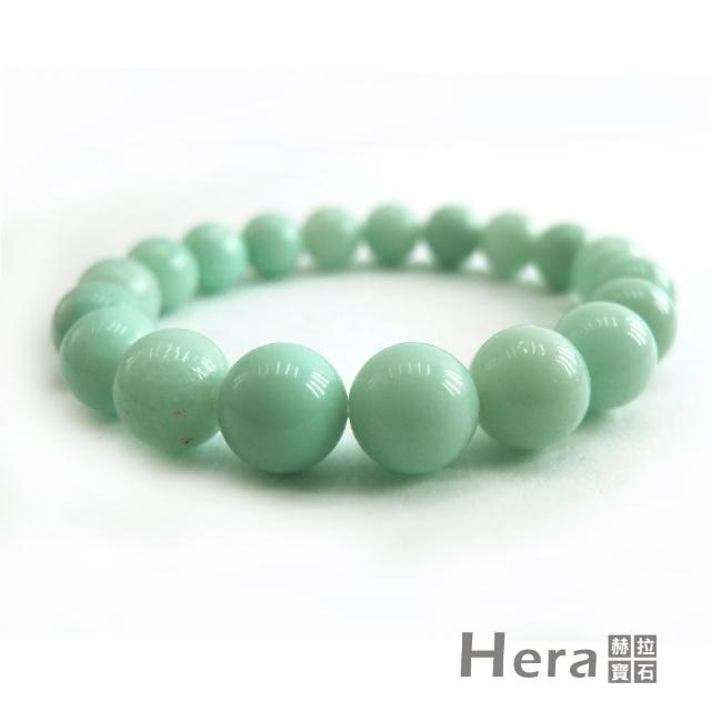 【Hera】頂級濃郁湛藍綠天河石手珠(10mm)