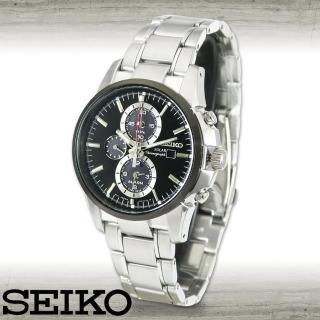 【SEIKO 精工】挑戰視覺個性運動男錶 太陽能電力(SSC087P1)