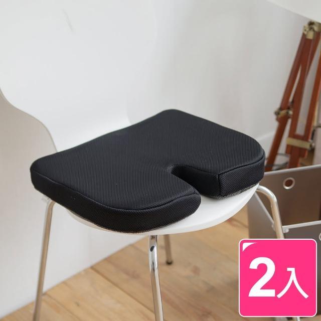 【完美主義】舒壓多功能太空記憶棉坐墊2入組(3色可選)/