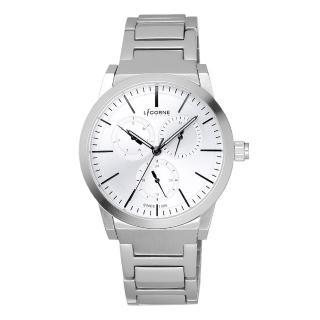 【LICORNE】生活哲學經典腕錶-白x小(LI038LWWI)