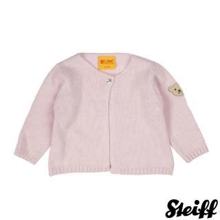 【STEIFF德國精品童裝】長袖 羊毛衣 粉(外套)