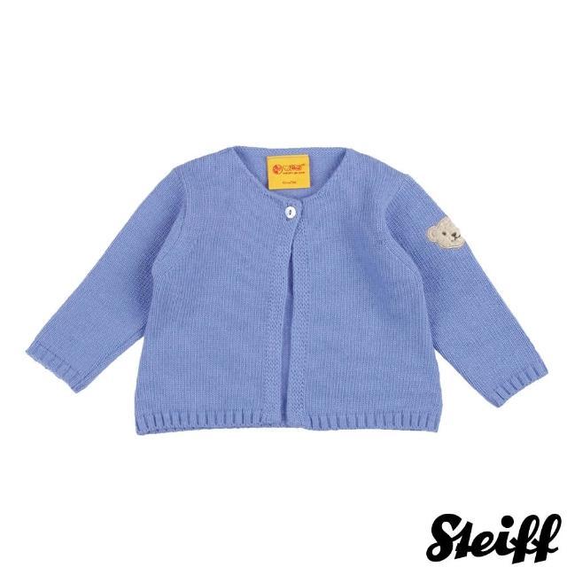 【STEIFF德國精品童裝】長袖 羊毛衣 藍(外套)