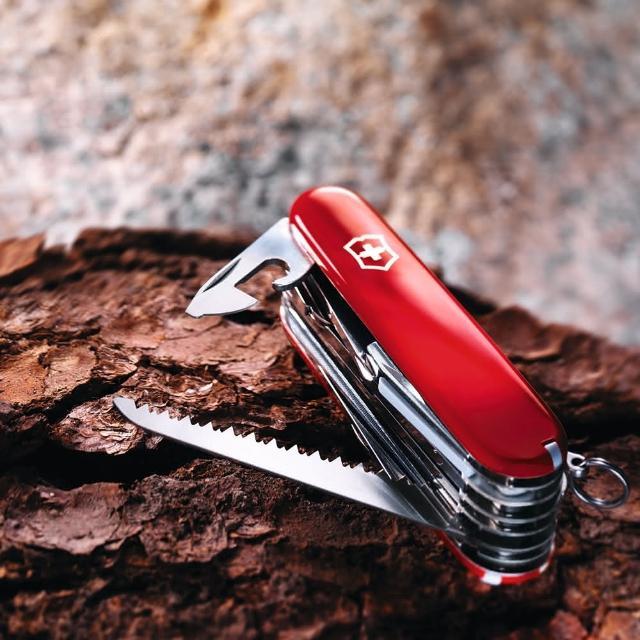 【VICTORINOX瑞士維氏】33用冠軍瑞士刀(紅)