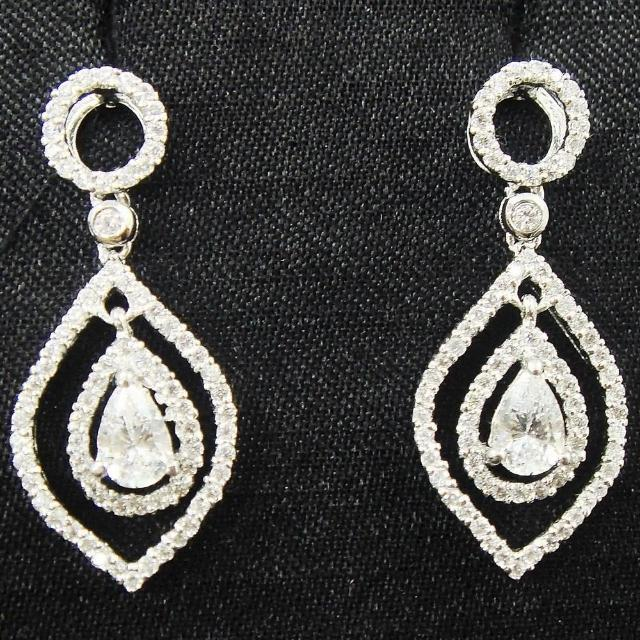 【Celosa珠寶】-動人晶鑽耳環