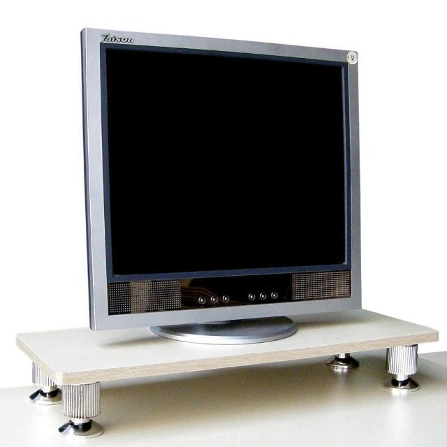 【美佳居】深24公分x寬60公分-桌上型置物架(白橡木色)