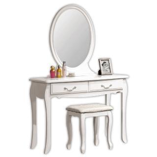 【顛覆設計】拉朵仙3.2尺化妝台(含椅)