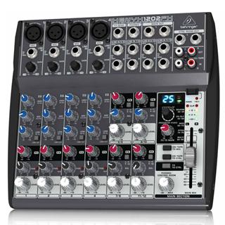 【BEHRINGER】XENYX X1202FX 12軌混音機錄音座
