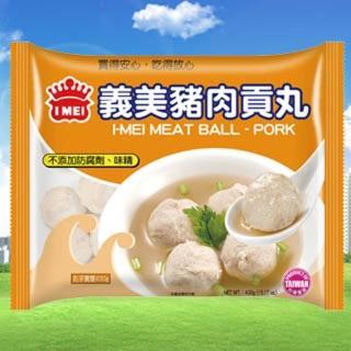 【鮮食家任選799】義美豬肉貢丸(430g/包)