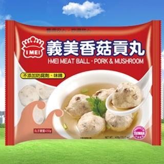 【鮮食家任選799】義美香菇貢丸(430g/包)