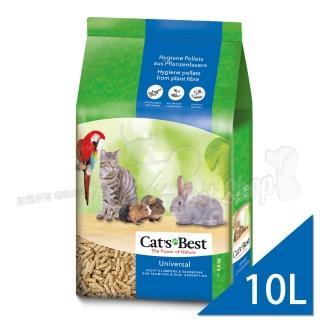 【滿千贈台北寵物展門票-德國凱優CAT'S BEST】木屑粗砂-藍標(10LX2包入)