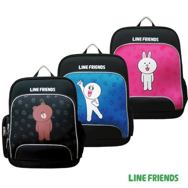 【LINE FRIENDS】EVA護脊雙層書背包(無辜熊大/加油!饅頭人/可愛兔兔)
