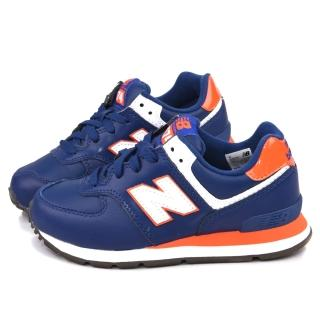 【NewBalance】大童 寬楦避震運動鞋(KJ574TPY-藍)