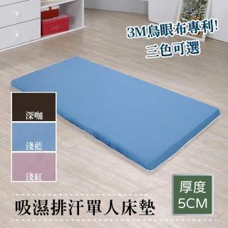 【戀香】吸濕排汗透氣床墊(單人3尺)