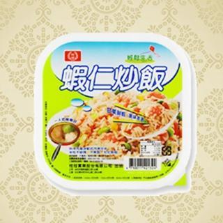【鮮食家任選799】桂冠新PP盒蝦仁炒飯(275g/盒)