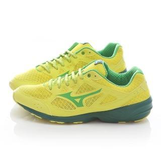 【MIZUNO】男款 PRIMA VIVO 慢跑鞋(J1GG152939-黃綠)