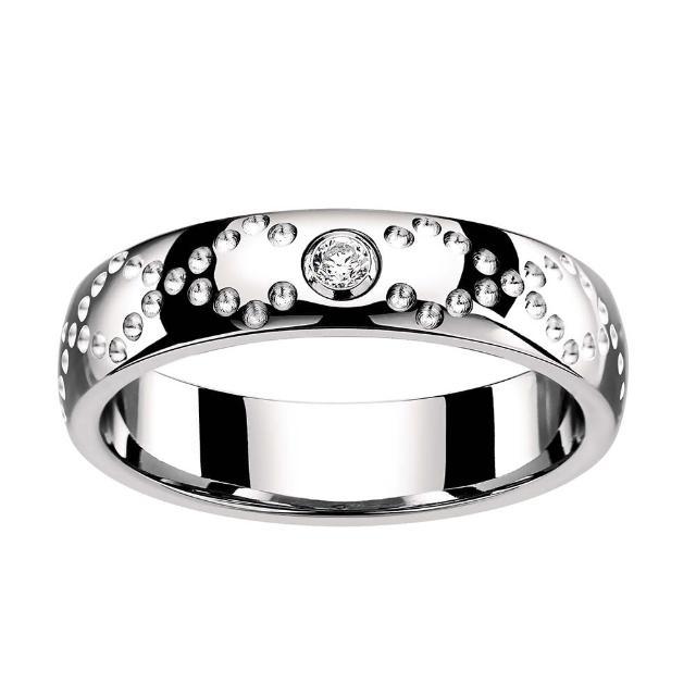 【ROYAL DAMON羅亞戴蒙】『愛情交會』戒指(小)