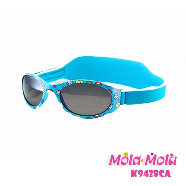 【Mola Mola 摩拉.摩拉】兒童太陽眼鏡 安全偏光 3歲以下 嬰幼兒 寶寶(K-9428ca)