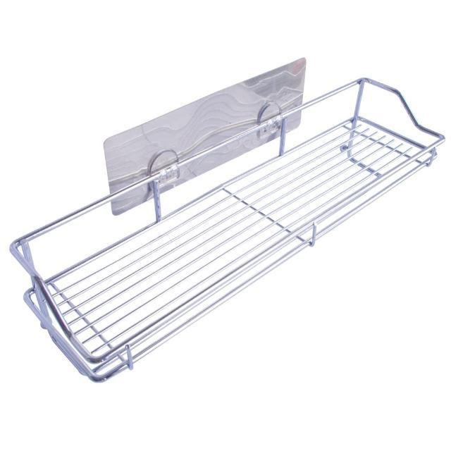 【無痕收納】多功能置物籃/毛巾置物架