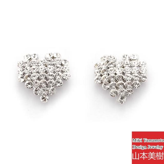 【山本美樹】心光 水晶鑽針式耳環
