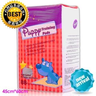 【Huppy】哈比狗狗訓練除臭抗菌尿布墊88片裝(45cm*60cm)
