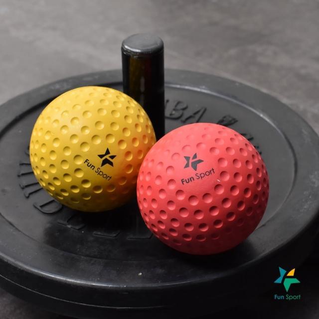 【Fun Sport】任您滾激痛點按摩球-2種硬度組合(激痛球/按摩器/握力球)