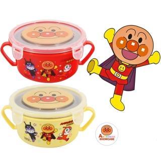 【鄉村熊餐具組合】幼兒隔熱碗附蓋+匙叉餐具+雙耳碗+水杯(5件組粉紅)