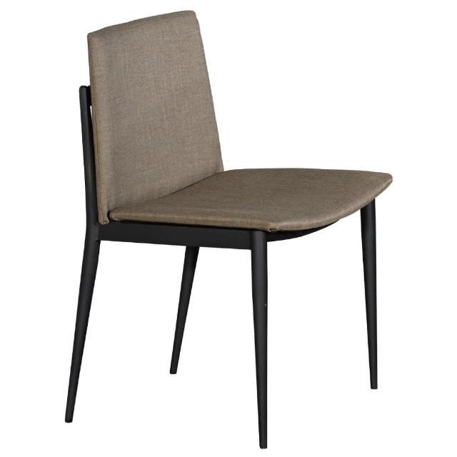 【東京家居】卡拉克黑腳餐椅(棕色)