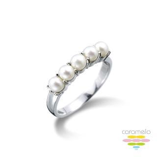 【彩糖鑽工坊】旖旎系列 日本AKOYA珍珠戒指(CL-RD72)