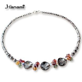 【Hanami】施華洛世奇繽紛璀璨水晶項鍊