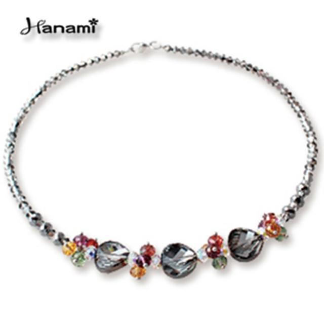 【Hanami】繽紛璀璨水晶項鍊