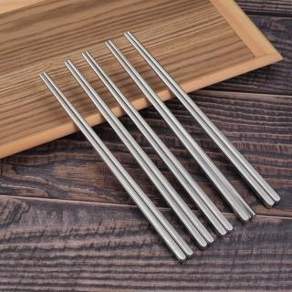【OSAMA】23cm王樣316不鏽鋼筷-5雙入X2組(#316)