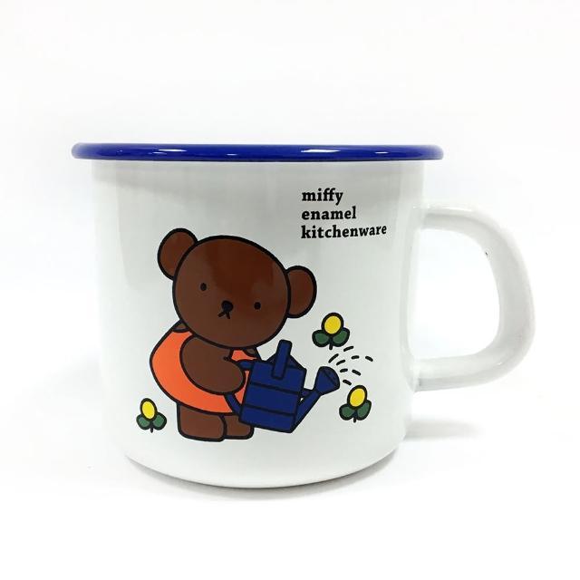 【日本富士FUJIHORO】MIFFY琺瑯杯-450ml / 小熊