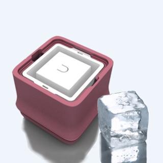 【POLAR ICE】極地冰盒二代粉色(正方形冰)