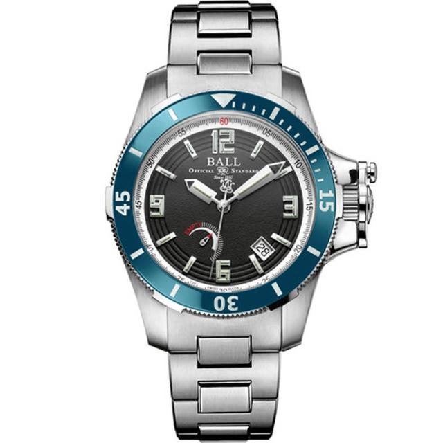 【BALL】Engineer Hydrocarbon Hunley限量版腕錶(PM2096B-S2J-BK)
