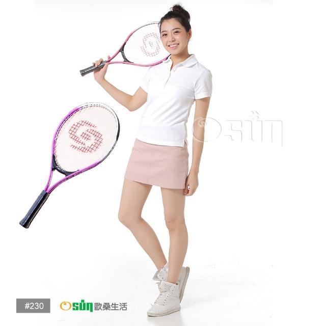 【Osun】FS-T230兒童網球拍(粉紅白CE-185G)