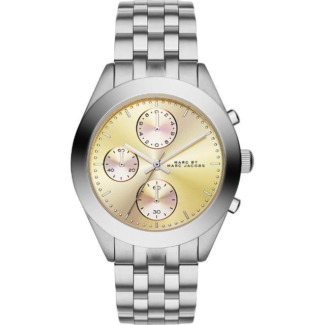 【Marc Jacobs】Peeker 優雅計時腕錶-金(MBM3370)