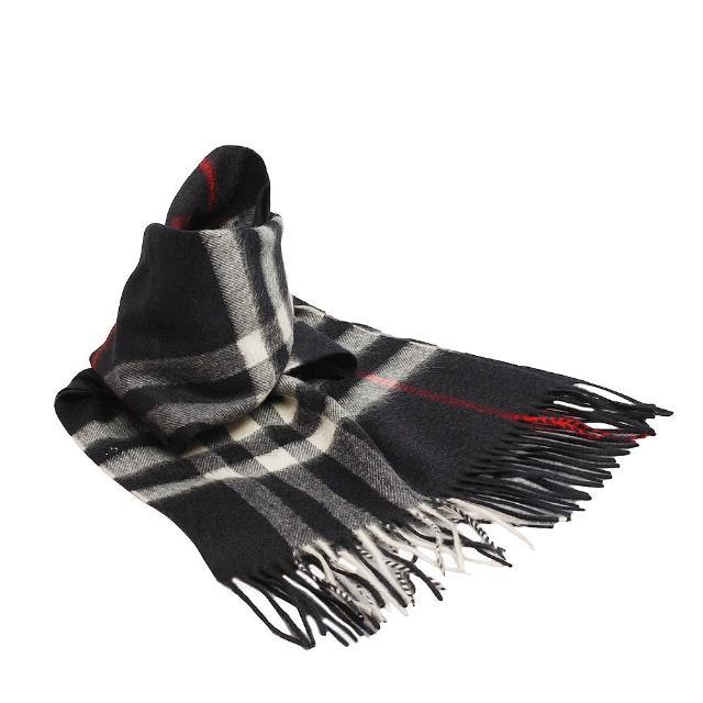 【BURBERRY】經典大格紋喀什米爾羊毛圍巾 168CM-海軍藍(3834195-NAVY-CHECK)哪裡買?