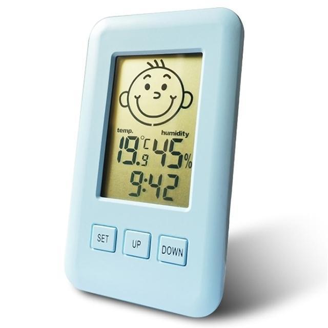 【Dr.AV】三合一智能液晶溫濕度計(GM-3Q)