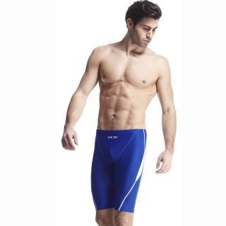 【SAIN SOU】競賽/泳隊/專業用及膝泳褲(加贈矽膠泳帽A57407-05)